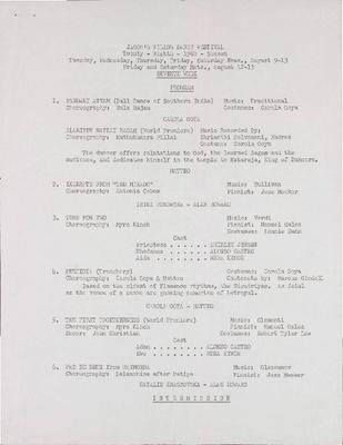 Natalie Krassovska, Irina Borowska, Alan Howard;  Myra Kinch & Company; Carola Goya and Matteo