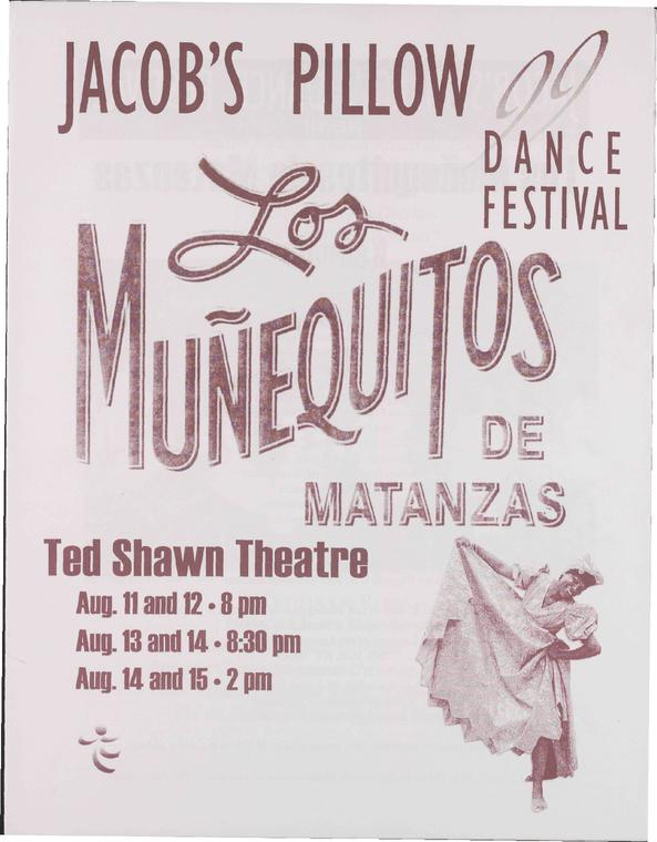 Los Munequitos de Matanzas Performance Program 1999