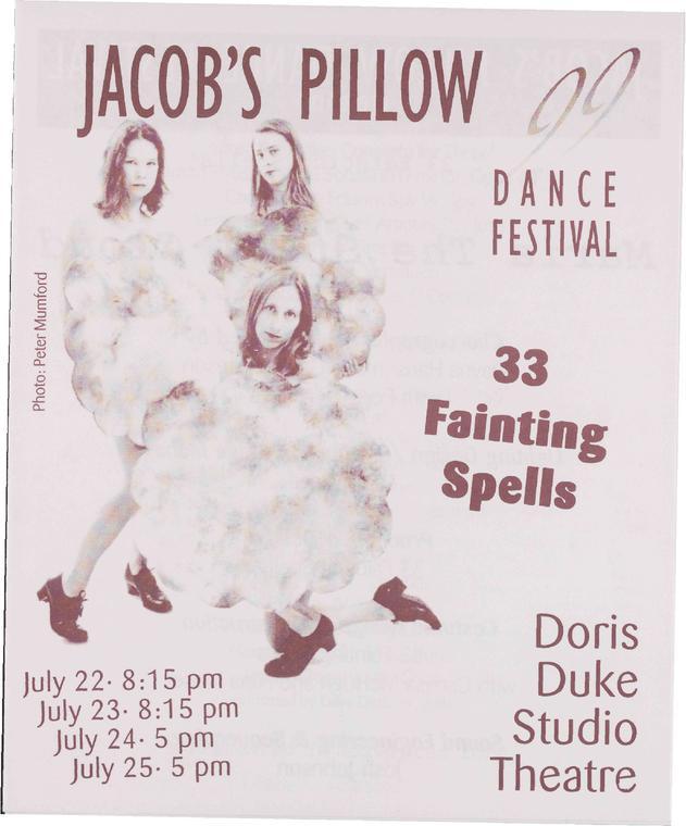 33 Fainting Spells Performance Program 1999