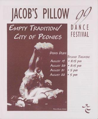 Empty Tradition/City of Peonies Performance Program 1999