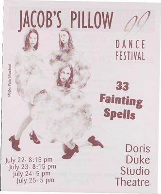 33 Fainting Spells Performance Program 1999
