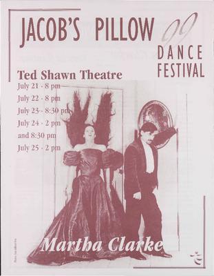 Martha Clarke Performance Program