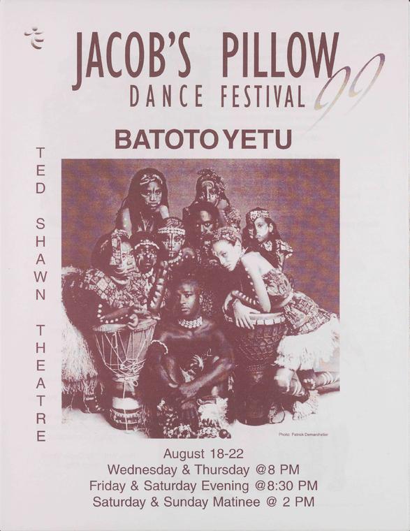Batoto Yetu Performance Program 1999