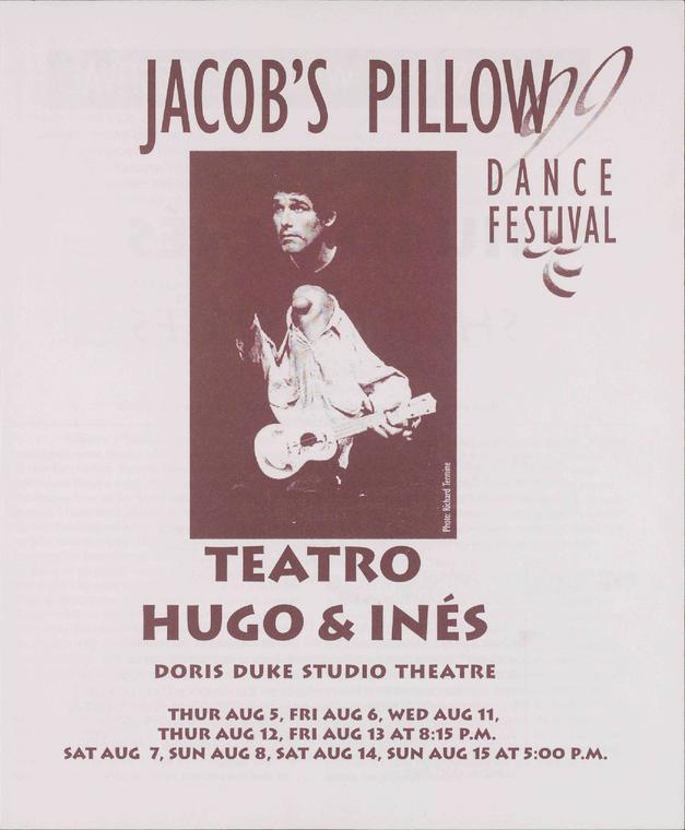 Teatro Hugo And Ines Performance Program 1999