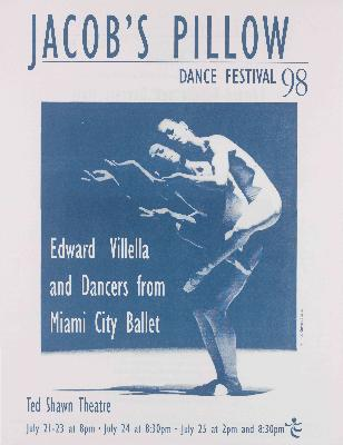 Edward Villella And Dancers From Miami City Ballet Performance Program 1998