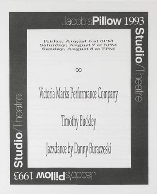 Studio/Theatre Performance Program