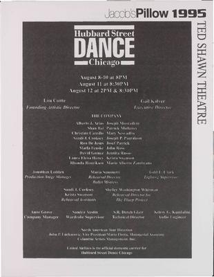Hubbard Street Dance Chicago Performance Program B