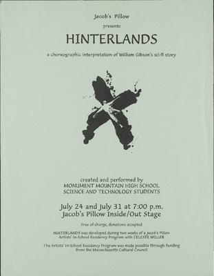 Hinterlands Performance Program
