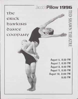Erick Hawkins Dance Company Performance Program