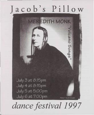 Meredith Monk Performance Program