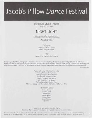 Night Light Performance Program