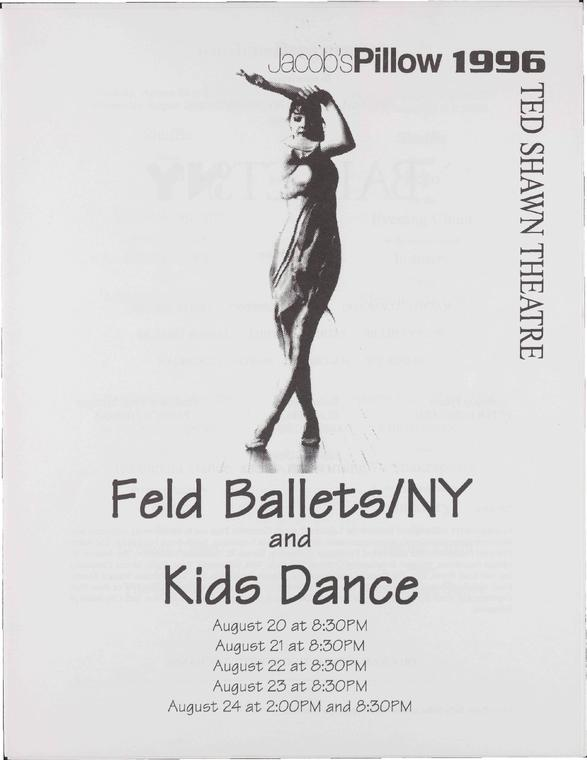 Feld Ballets/NY and Kids Dance Performance Program