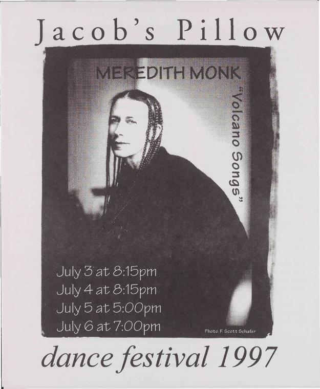 Meredith Monk Performance Program
