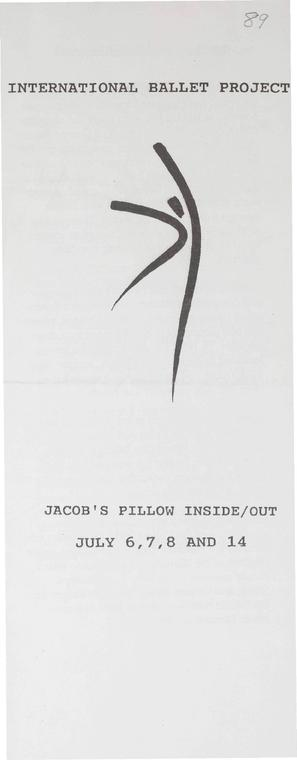 Inside/Out Performance Program 1989