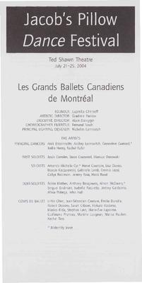 Les Grands Ballet Canadiens de Montreal Performance Program