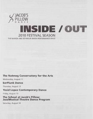 Inside/Out Performance Program 2010