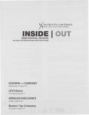 Inside/Out Performance Program 2008