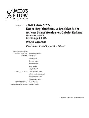 Chalk and Soot Performance Program 2014