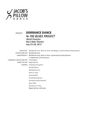 Dorrance Dance Performance Program 2013