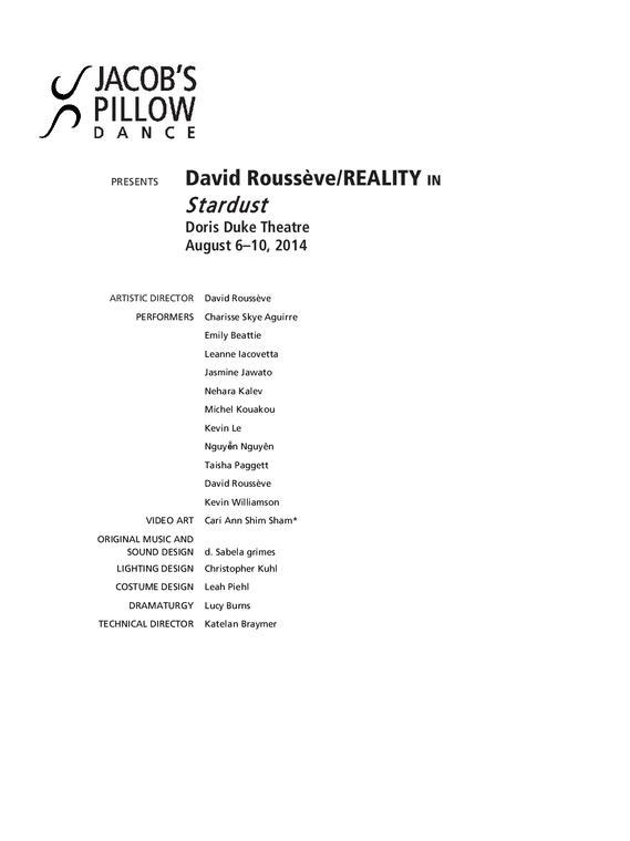 DavidRousseve/REALITY Performance Program 2014