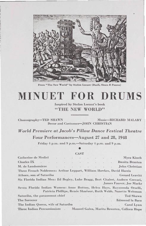 Minuet for Drums Performance Program