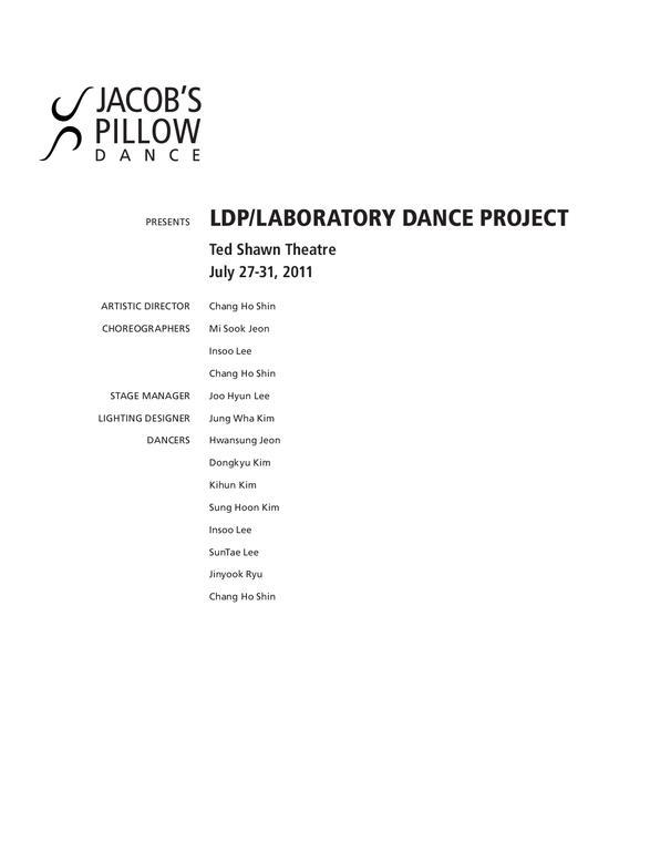 LDP/Laboratory Dance Project