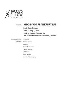 Kidd Pivot Performance Program 2012