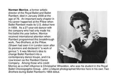 Norman Morrice