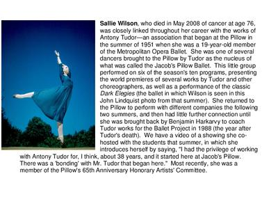 Sallie Wilson