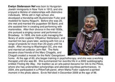 Evelyn Stefansson Nef