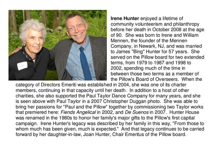 Irene Hunter