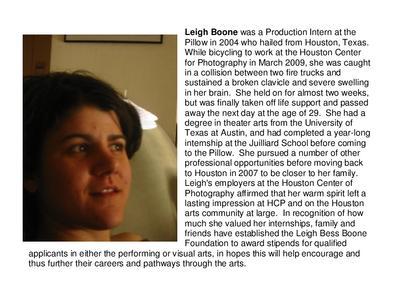 Leigh Boone