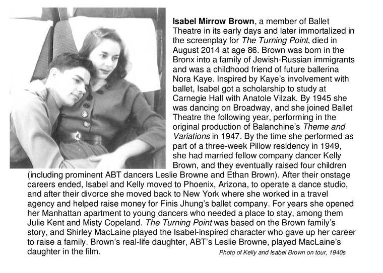 Isabel Mirrow Brown
