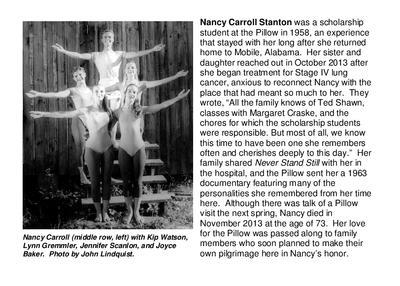 Nancy Carroll Stanton