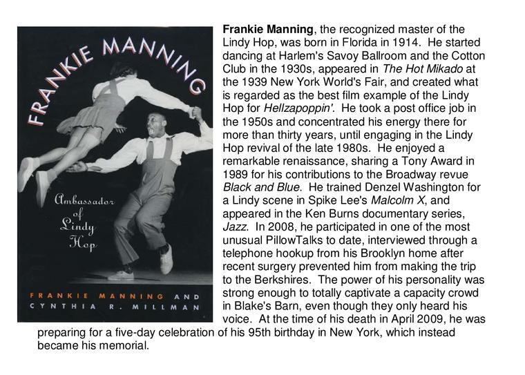 Frankie Manning