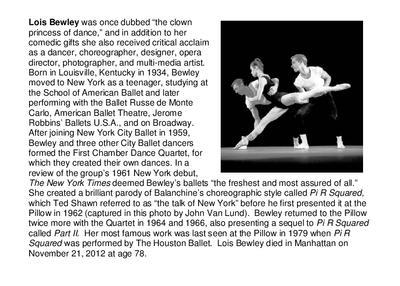 Lois Bewley