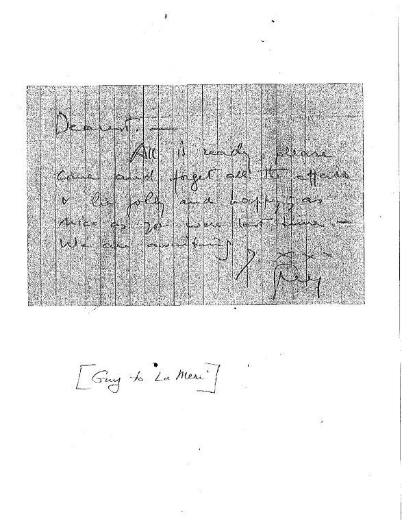 Guido Carreras letter to La Meri