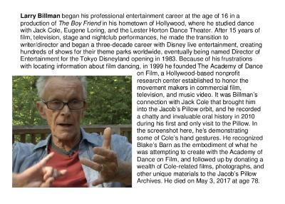 Larry Billman