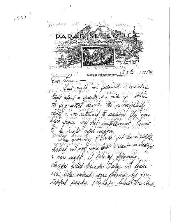 La Meri letter to Guido Carreras