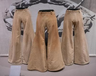 Flared Moleskin Trousers, Kinetic Molpai (set of seven)