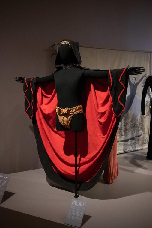 Black and Red Hooded Cloaks, Dance of the Ages, Fire Movement (set of nine)