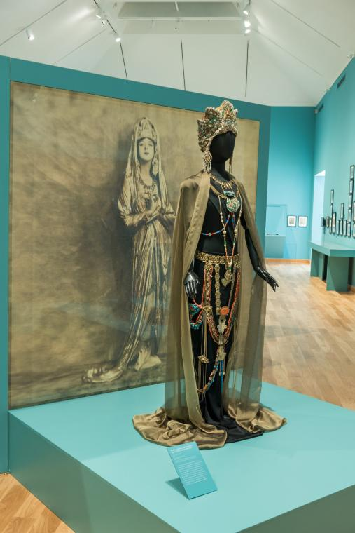 Headdress and Jewelry, Kuan Yin (ensemble)