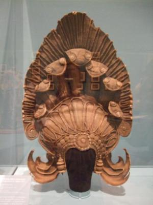 The Naga Queen Headdress, Angkor-Vat