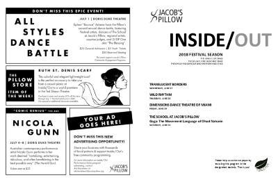 Inside/Out Performance Program Week 2 2018