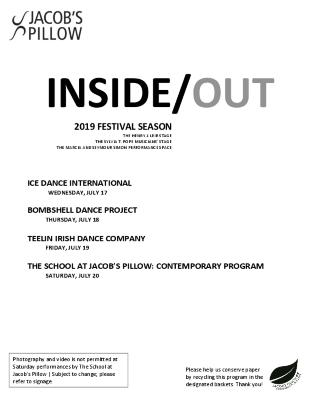 Inside/Out Performance Program Week 5 2019