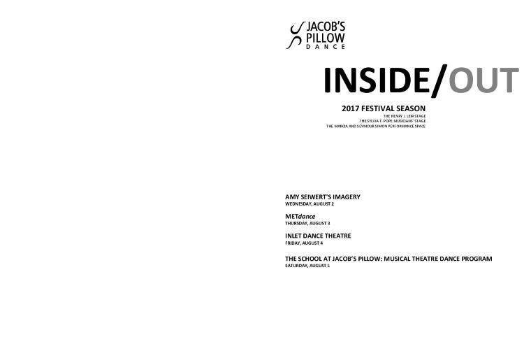 Inside/Out Performance Program Week 7 2017