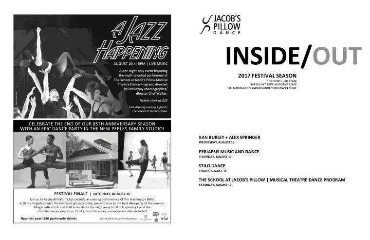Inside/Out Performance Program Week 9 2017
