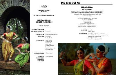 Nrityagram Dance Ensemble Program 2021