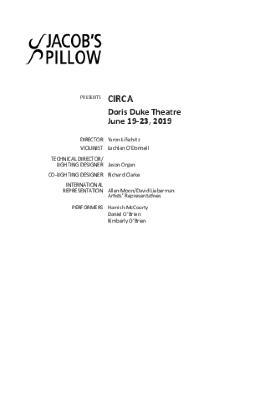 Circa Program 2019