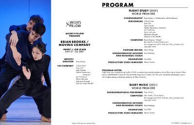 Brian Brooks / Moving Company Program 2021